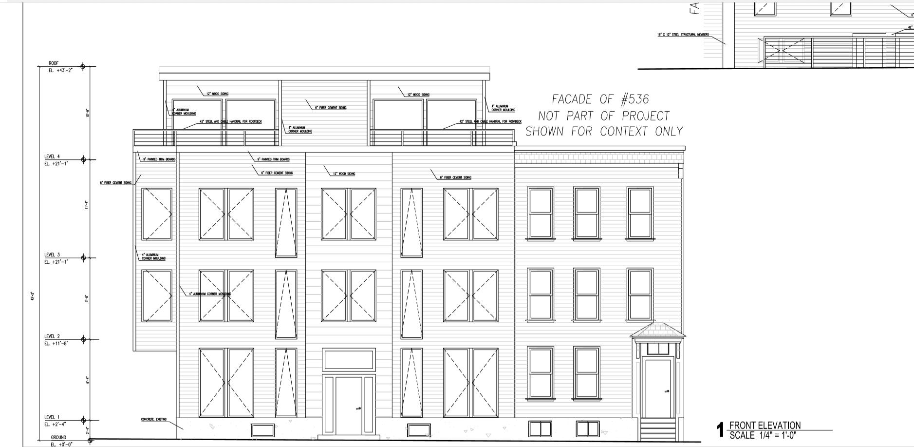 534 R Dorchester Ave Front Elevation